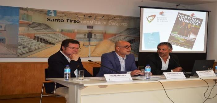 Apresentação do jogo de Qualificação para o Campeonato da Europa de Seniores Masculinos de Andebol – (Portugal – Hungria)