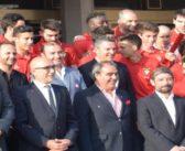 CD Aves recebido nos Paços do Concelho, pelo Presidente Joaquim Couto