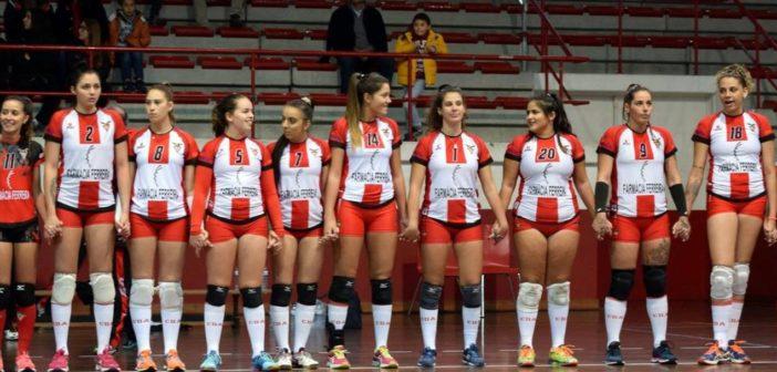 Voleibol sénior feminino  – jogo em Santo Tirso  –  Ginásio  –  CD Aves