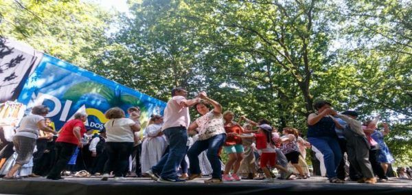 Dia dos Avós celebrado no parque urbano Sara Moreira