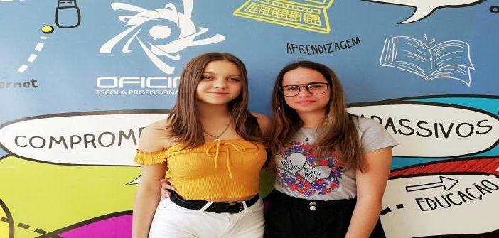 Alunas OFICINA alcançam Menção Honrosa no concurso Ar(riscar)