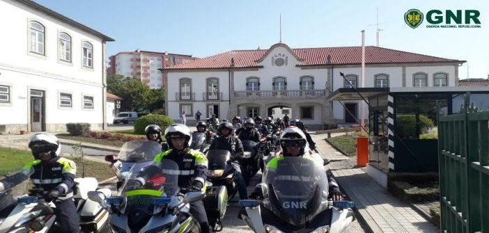 GNR organizou passeios para sensibilizar motociclistas