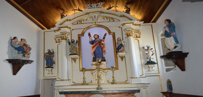 Santo André de sobrado – Vila das Aves, foi lembrado