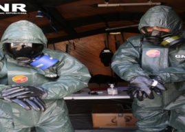 COVID-19 – GNR já descontaminou cerca de 900 instalações