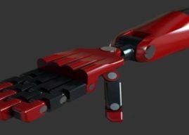 Aluno da OFICINA desenvolve prótese inspirada em personagens de BD