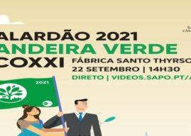 Santo Tirso recebe cerimónia de entrega da bandeira verde ECOXXI 2021